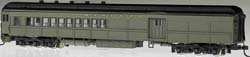 Bachmann HO 72' Heavyweight Combine, SF/Pullman Green, LIST PRICE $109