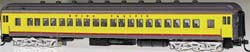 Bachmann HO 72' Heavyweight Coach, UP/Yellow/Gray/Red, LIST PRICE $109