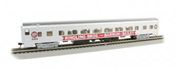 Bachmann HO Ringling Bros Barnum Bailey 85' SS Coach Red Unit, DUE TBA, LIST PRICE $79