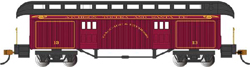 Bachmann HO O-T Pass Rnd End Clerestory Roof Baggage SF, DUE TBA, LIST PRICE $36