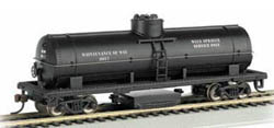 Bachmann HO Track Cleaning Tank Car, MOW, LIST PRICE $54