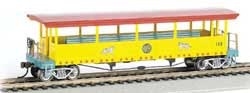 Bachmann HO Excursion Car #142, LIST PRICE $47