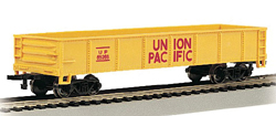 Bachmann HO 40ft Gon UP #65266, DUE TBA, LIST PRICE $27