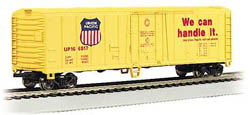 Bachmann HO RTR SS 50' Reefer, UP, LIST PRICE $29