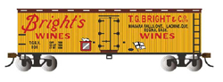 Bachmann HO 40' WS Rfr BRight'S WINES, DUE TBA, LIST PRICE $38