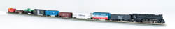 Bachmann N Empire Builder Train Set, SF, LIST PRICE $355