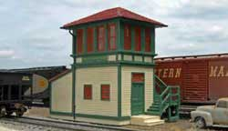 Bachmann HO Falls Junction Switch Tower, LIST PRICE $109