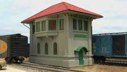 Bachmann HO Central Junction Switch Tower, LIST PRICE $99