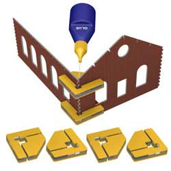 Bachmann 4 Magnetic Clamps w/16 Magnets, LIST PRICE $74.5