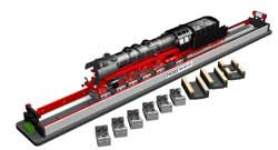 Bachmann HO Rolling Road w/Drive Wheel Cleaning , LIST PRICE $209