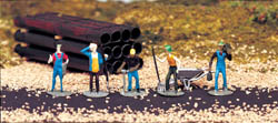 Bachmann HO Work Crew, LIST PRICE $11.5