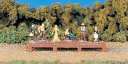 Bachmann HO Old West Figures, LIST PRICE $13.5