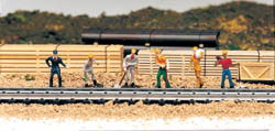 Bachmann HO Train Work Crew, LIST PRICE $13.5