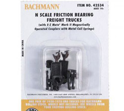 Bachmann N Friction Bearing Truck (12), LIST PRICE $55