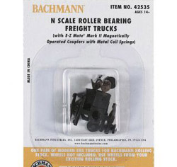 Bachmann N Roller Bearing Freight Truck (12), LIST PRICE $52