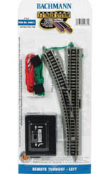 Bachmann N NS EZ Remote Left-Hand Switch, LIST PRICE $45
