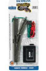 Bachmann N NS EZ Remote Right-Hand Switch, LIST PRICE $45