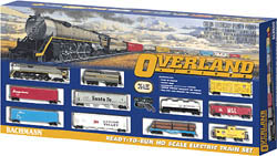 Bachmann HO Overland Limited Train Set, UP, LIST PRICE $366.4