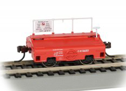 Bachmann HO Test Weight Car, CN/Red, LIST PRICE $39
