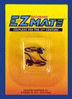 Bachmann HO EZMate Center Shank Coupler, Medium (pair), LIST PRICE $23