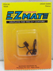 Bachmann HO EZ-MATE COUPLER UNDER SHANK-MEDIUM 1pr, LIST PRICE $2.5