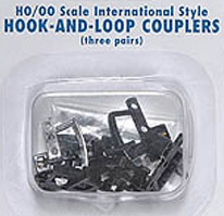Bachmann HO Thomas Hook & Loop Coupler (3pr), LIST PRICE $14