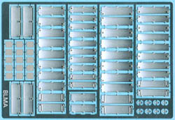 BLMA N Diesel Locomotive Hood Doors, LIST PRICE $9.5
