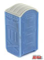 BLMA HO Portable Toilets (2) (Assembled), LIST PRICE $8.45
