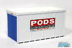 BLMA HO PODS� Container (Assembled), LIST PRICE $9.45