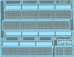 BLMA HO Picket Fence (70 linear scale feet), LIST PRICE $18.75
