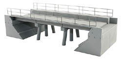 BLMA HO Modern Concrete Segmental Bridge Kit (A), LIST PRICE $22.95