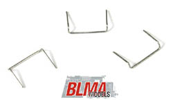 "BLMA HO 18"" Drop Grab Irons (20) - .008"" wire, LIST PRICE $7.95"