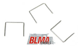 "BLMA HO 18"" Straight Grab Irons(20) - .008"" wire, LIST PRICE $7.95"