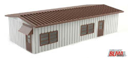 BLMA N Modern Yard Office (Assembled), LIST PRICE $24.95