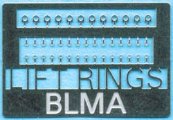 BLMA N Lift Rings (EMD & GE), LIST PRICE $4.25