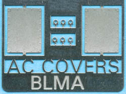 BLMA N Removed AC Cover Plates (2), LIST PRICE $3.75