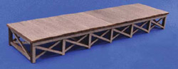 Blair Line HO Wood Loading Dock Kit 3/, LIST PRICE $40