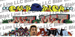 Blair Line HO Graffiti dcls Mega #4  3/, LIST PRICE $6