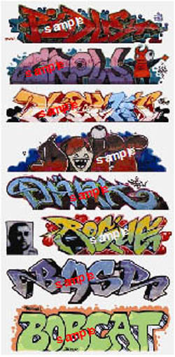 Blair Line HO Graffiti, Mega Set #9, LIST PRICE $6