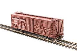 Broadway Ltd HO K7A Stock Car w/Chicken Sounds SP, LIST PRICE $79.99