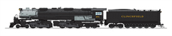 Broadway Ltd HO P3 Late 4-6-6-4 Challenger Clinchfield Coal #674, DUE 5/30/2019, LIST PRICE $699.99