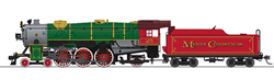 Broadway Ltd HO Hvy Pacific 4-6-2 Merry Christmas #25 P3 , DUE 11/30/2019, LIST PRICE $369.99