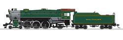 Broadway Ltd HO Hvy Pacific 4-6-2 Southern 1381 Green P3 , DUE 11/30/2019, LIST PRICE $369.99