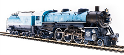 Broadway Ltd HO Lt Pacific 4-6-2 Merry Christmas #1219 P3 , DUE 11/30/2019, LIST PRICE $369.99