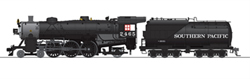 Broadway Ltd HO Lt Pacific 4-6-2 Southern Pacific #2465  P3 , DUE 11/30/2019, LIST PRICE $369.99