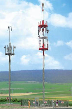 Busch HO Cell Phone Towers      /2, LIST PRICE $28.99