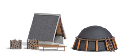 Busch HO Charcoal Oven with Shelter, LIST PRICE $34.99