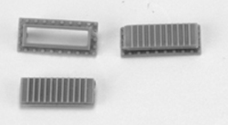Cal Scale Dynamic Brake Roof Grid - base and cover 2 sets, LIST PRICE $3.95