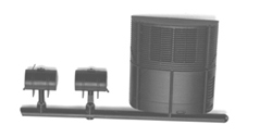 Cal Scale Highway Reefer Unit with diesel fuel tank, LIST PRICE $3.95