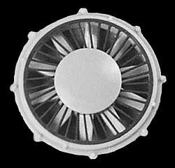 "Cannon HO 36"" Radiator Fan EMD 4/, LIST PRICE $16"